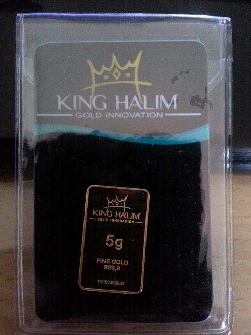 Logam Mulia King Halim 5gr