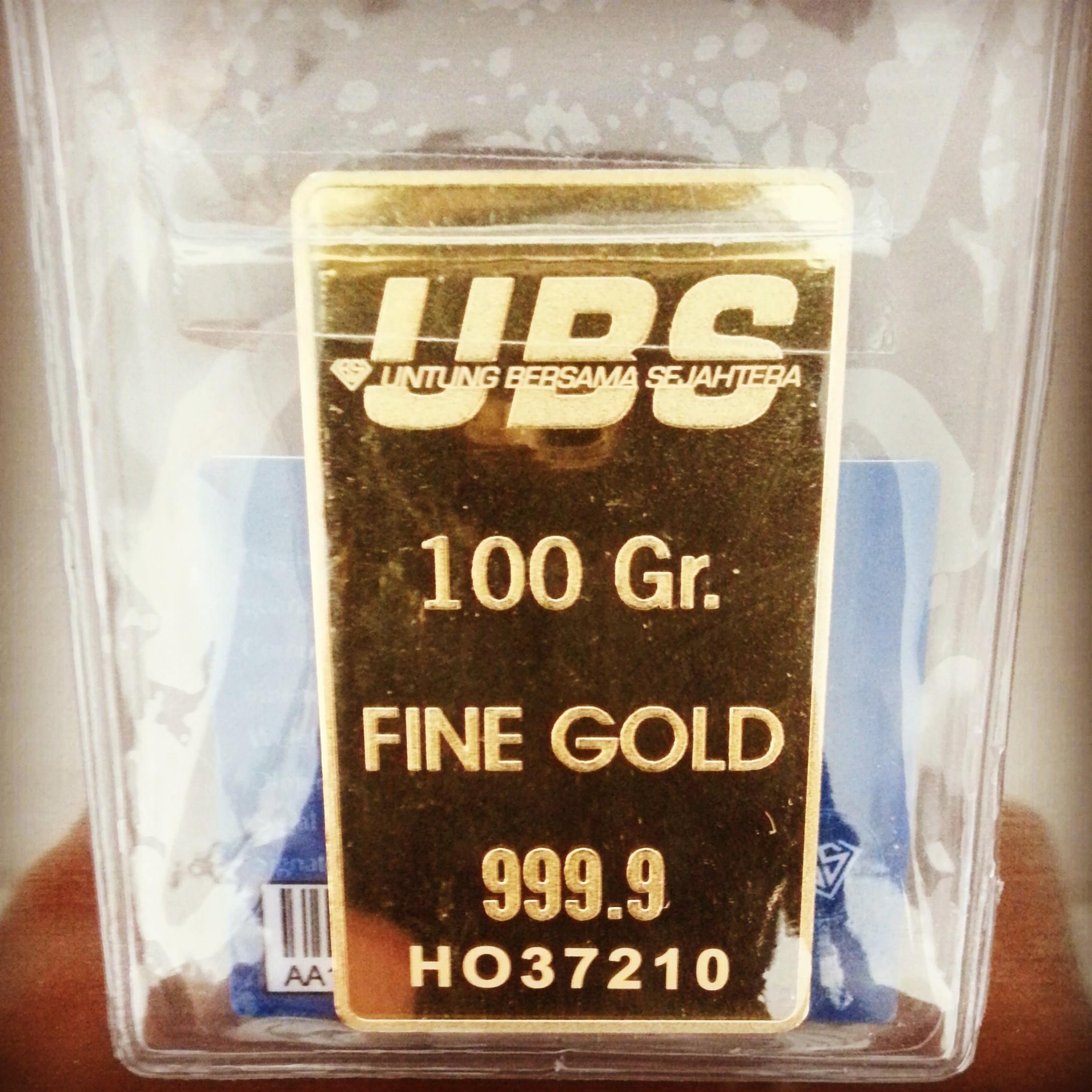LM UBS 100gr Cetakan ke 3