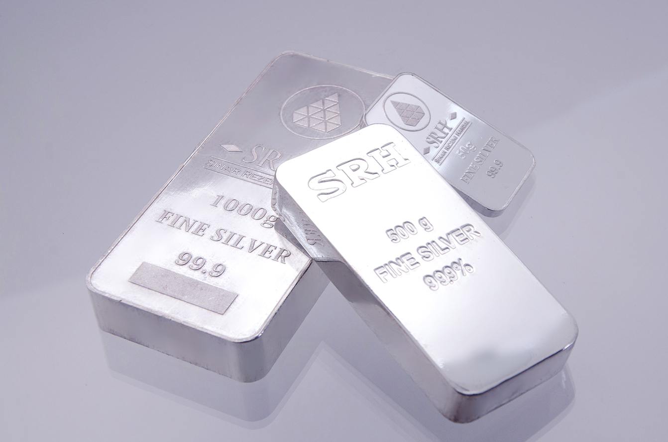 Perak 50, 500, 1000 gram