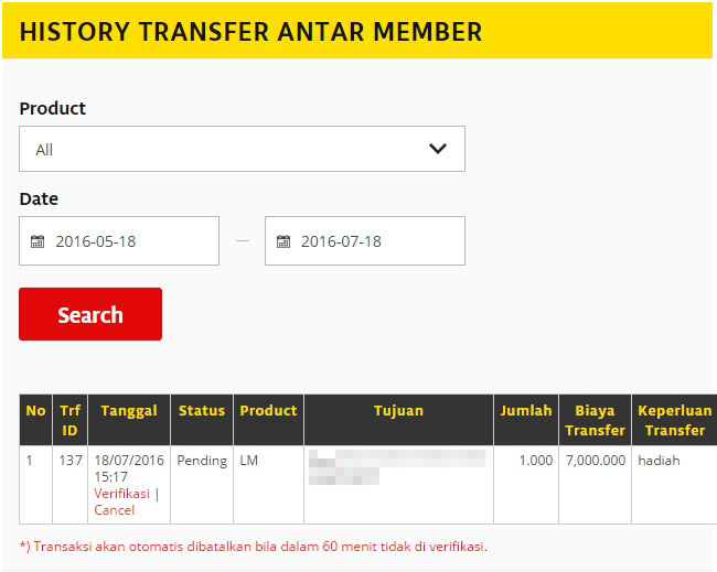 manage transfer