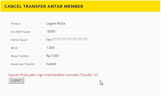 pembatalan transfer